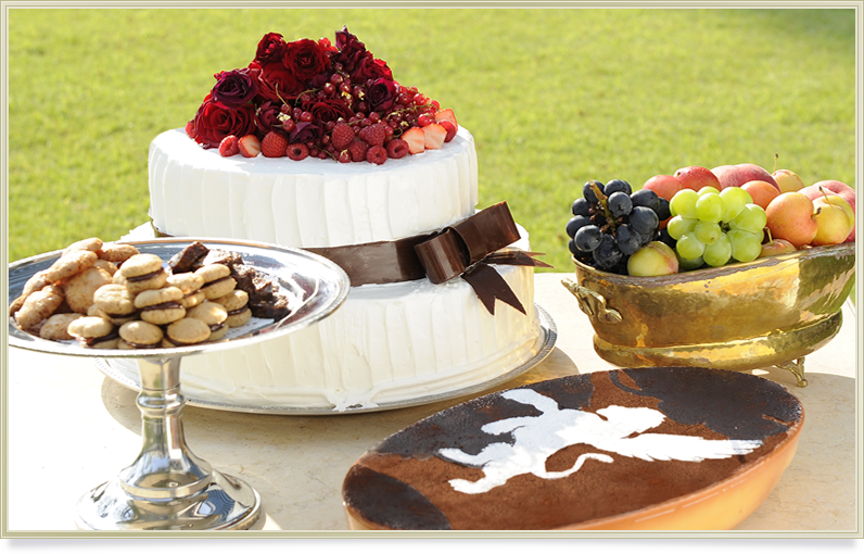 レオーネ マルチアーノのウェディングケーキ
